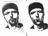 "Sketches ""A"" and ""B"" of Man Believed to Be Responsible for Centennial Olympic Park Bombing Premium Photographic Print"