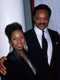 Politician Jesse Jackson and Wife Photo