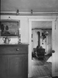 Interior of Author Mark Twain's House Premium Photographic Print