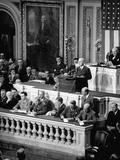 President Harry Truman Premium Photographic Print