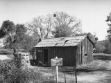 Exterior of Mark Twain Cabin Premium Photographic Print