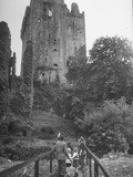 Exterior of the Blarney Castle Premium Photographic Print