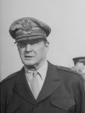 General Douglas Macarthur at Haneda Field Premium Photographic Print