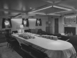 The Dining Room in President Harry S. Truman's Yacht Premium Photographic Print
