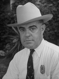 Homer Garrison, Chief of Texas Rangers Premium Photographic Print