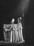 David Dubinsky, Speaking at Madison Square Garden Premium Photographic Print