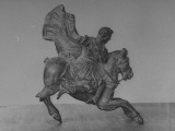 Bronze in the British Museum of Alexander the Great Riding Horseback Premium Photographic Print