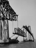 Chesapeake Bay Bridge, Final Span of 4-Mile-Long Bridge Fitted into Place Photographic Print
