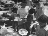 Children from Inner City of Chicago Attending a Community Picnic Premium Photographic Print