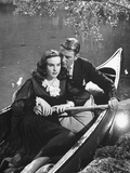 "Actress Deanna Durbin and Actor Tom Drake in the Movie, ""I'Ll Be Yours"" Premium Photographic Print"