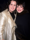 Television Personality Rosie O'Donnell and Actress/Singer Liza Minnelli at White Rose Awards Premium Photographic Print