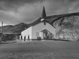Exterior of Chapel of the Deep at Submarine Base Premium Photographic Print