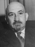 Portrait of Jewish Rabbi, Religious Leader, and Future President of Israel Dr. Chaim Weizmann Premium Photographic Print