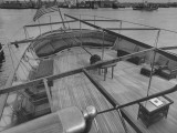 A Stern Shot Looking Down from President Harry S. Truman's Quarters Deck Premium Photographic Print