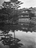 Exterior of Kinkaku, the Gold Pavilion Premium Photographic Print