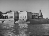 Exterior View of the Arab League Palace Premium Photographic Print