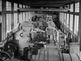 Interior of Mechanical Engineering Laboratory at Wisconsin University Premium Photographic Print
