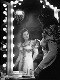 Opera Singer Nadine Connor Posing in Costume Premium Photographic Print
