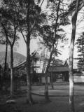Exterior of Toji-In Temple Premium Photographic Print
