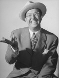 Comedian Phil Silvers Performing Premium Photographic Print