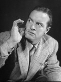 Comedian Bob Hope Expressing Fear Premium Photographic Print