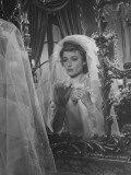 """Actress Laraine Day in Scene from Film """"What Nancy Wanted"""" Premium Photographic Print"""