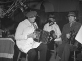 Local Musicians Supplying Folk Music for Old Dances Premium Photographic Print