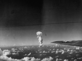 Atomic Bomb Being Tested over Bikini Atoll Premium Photographic Print