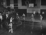 A View of the Kentucky-Wabash Basketball Game Premium Photographic Print