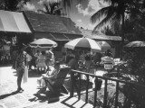 Porcupine Club, the Most Conservative and Fashionable of All Clubs in Nassau Premium Photographic Print