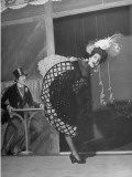 "Actress Merle Oberon Dancing the ""Parisian Trot"" in the Movie, ""The Lodger"" Premium Photographic Print"