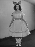 Opera Singer Patrice Munsel in Costume for One of Her Roles Premium Photographic Print