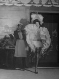 """Actress Merle Oberon, Dancing the """"Parisian Trot"""" in the Movie, """"The Lodger"""" Premium Photographic Print"""