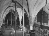 Steel-Braced Arches of the Undercroft of Lambeth Palace, Phonograph Premium Photographic Print