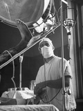 Anesthesiologist Dr. Vincent Collins Using Drip Method for Controlling Pain Photographic Print