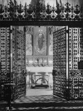 Interior View of the National Cathedral Premium Photographic Print