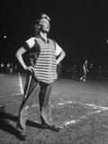 Women Playing Softball Premium Photographic Print