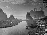 Olympic National Park Peninsula at Ruby Beach Premium Photographic Print