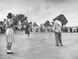Women's NationalAmateur Golf Tournament Premium Photographic Print