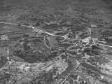 Aerial View of San Antonio Canal, in Trieste Region Premium Photographic Print