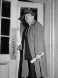 Senator Claude D. Pepper, Entering the White House Premium Photographic Print