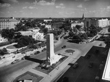 Alamo Plaza Looking South Premium Photographic Print