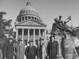 Picture Taken During Senate Investigation of Senator Theodore G. Bilbo Premium Photographic Print
