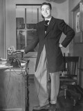 A Man Modeling the New Fashion, a Zoot Suit Premium Photographic Print