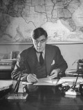 Senator Joseph H. Ball, Working at His Desk Premium Photographic Print