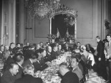 Dorothy M. Vredenburgh Attending Luncheon Given in Her Honor to Meet the Senators of Her Party Premium Photographic Print