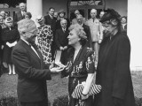 President Harry S. Truman Presenting the Distinguished Service Medal to Mrs. E. M. Watson Premium Photographic Print