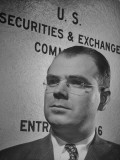 Director of Trading and Exchange Division of the Securities and Exchange Commission James Treanor Premium Photographic Print