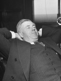 Henry A. Wallace Relaxing in His Office Premium Photographic Print