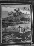 """Painting Titled """"Under the Palm Trees"""" by Artist Paul Gauguin Premium Photographic Print"""